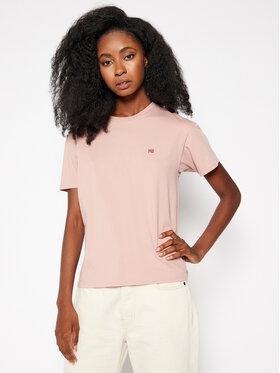Napapijri Napapijri T-Shirt Salis NP0A4EYP Różowy Regular Fit