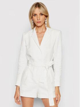 IRO IRO Ολόσωμη φόρμα Hana A0082 Λευκό Slim Fit
