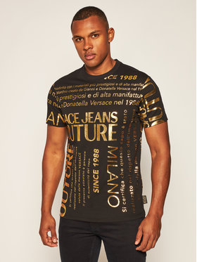 Versace Jeans Couture Versace Jeans Couture T-Shirt B3GZA7TL Schwarz Regular Fit