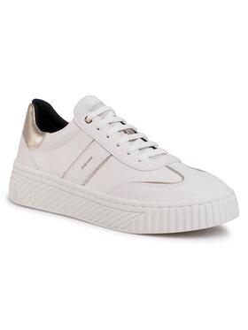 Geox Geox Sneakersy D Licena B D04HSB 085NF C1002 Biela