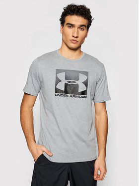 Under Armour Under Armour Тишърт Ua Boxed Sportstyle 1329581 Сив Loose Fit