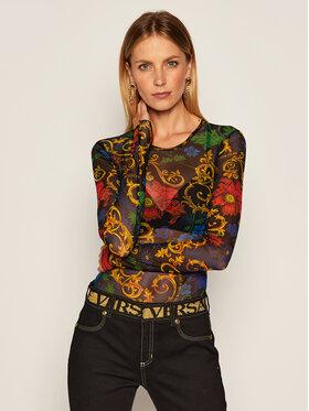 Versace Jeans Couture Versace Jeans Couture Bluzka B2HZB710 Czarny Slim Fit