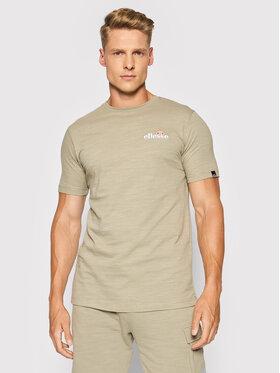 Ellesse Ellesse T-Shirt Mille Tee SHJ11941 Zielony Regular Fit