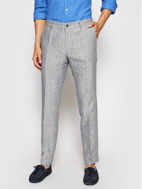 JOOP! Joop! Pantalon en tissu 17 Jt-18Hank 30026548 Gris Slim Fit