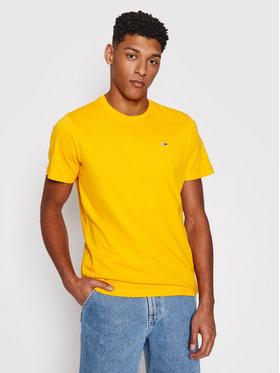 Tommy Jeans Tommy Jeans T-Shirt Classics DM0DM10101 Žlutá Regular Fit