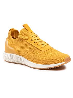 Tamaris Tamaris Sneakersy 1-23714-26 Żółty