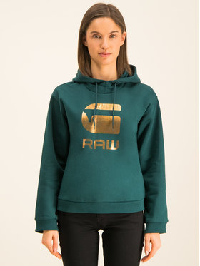 G-Star RAW G-Star RAW Суитшърт Graphic 21 D15964-A975-A915 Зелен Straight Fit