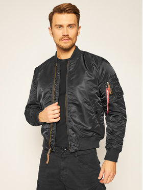 Alpha Industries Alpha Industries Bomber Ma-1 Vf 59 191118 Nero Slim Fit