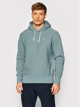 Champion Champion Sweatshirt Reverse Weave C Logo 216496 Grün Regular Fit