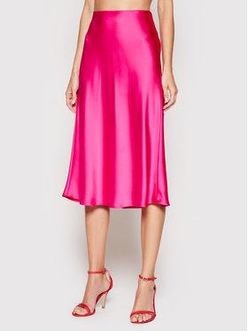Lauren Ralph Lauren Lauren Ralph Lauren Spódnica midi 200831684001 Różowy Regular Fit