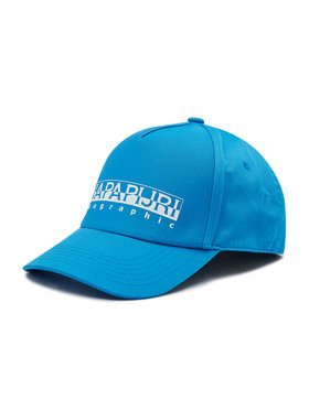 Napapijri Napapijri Kepurė su snapeliu Framing 2 NP0A4F93 Mėlyna