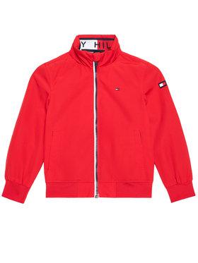 Tommy Hilfiger Tommy Hilfiger Demisezoninė striukė Essential KB0KB06268 M Raudona Regular Fit