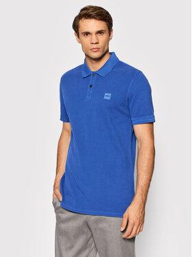Boss Boss Polo Prime 50378365 Bleu Slim Fit