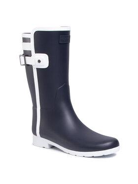 Hunter Hunter Bottes de pluie W Ref Slim Fit Short Contrast WFS2075RMA Bleu marine