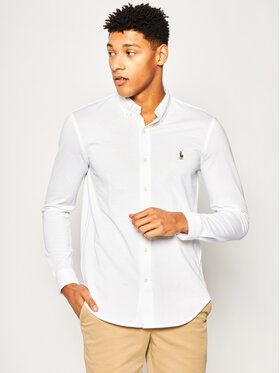 Polo Ralph Lauren Polo Ralph Lauren Koszula Classics 710728724 Biały Regular Fit