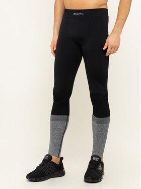 Craft Craft Долни мъжки клинове Warm Intensity 1907926 Черен Slim Fit