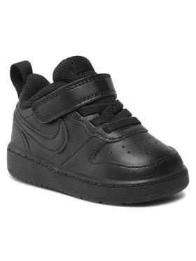 Nike Nike Boty Court Borough Low 2 (Tdv) BQ5453 001 Černá