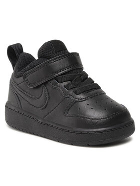 Nike Nike Cipő Court Borough Low 2 (Tdv) BQ5453 001 Fekete