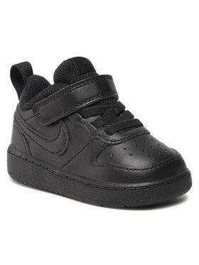 Nike Nike Обувки Court Borough Low 2 (Tdv) BQ5453 001 Черен