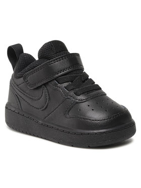 Nike Nike Topánky Court Borough Low 2 (Tdv) BQ5453 001 Čierna