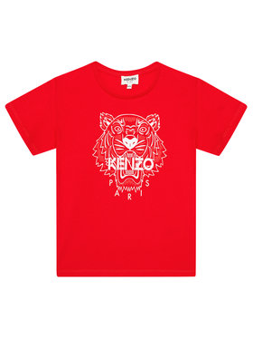 Kenzo Kids Kenzo Kids T-Shirt K15086 S Czerwony Regular Fit