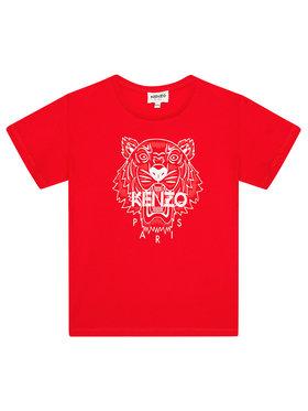 Kenzo Kids Kenzo Kids Тишърт K15086 S Червен Regular Fit