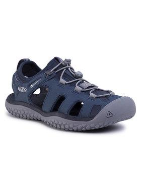 Keen Keen Basutės Solr Sandal 1022431 Tamsiai mėlyna