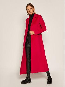 TwinSet TwinSet Вълнено палто 202TP2053 Розов Regular Fit