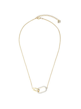 Swarovski Swarovski Halskette Necklace Med 5566227 Goldfarben