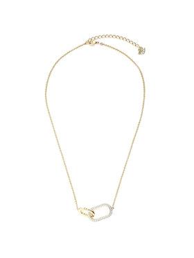 Swarovski Swarovski Ogrlica Necklace Med 5566227 Zlatna