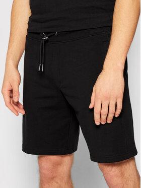 Guess Guess Pantaloncini sportivi M1GD54 K6ZS1 Nero Slim Fit
