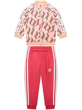 adidas adidas Dres Sst Set GN2215 Różowy Regular Fit
