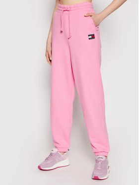 Tommy Jeans Tommy Jeans Jogginghose DW0DW09740 Rosa Relaxed Fit