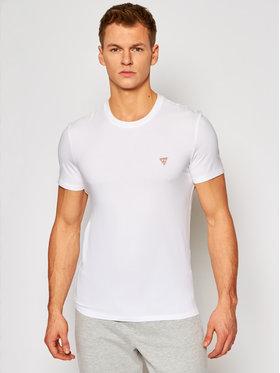 Guess Guess T-Shirt M1RI24 J1311 Bílá Super Slim Fit