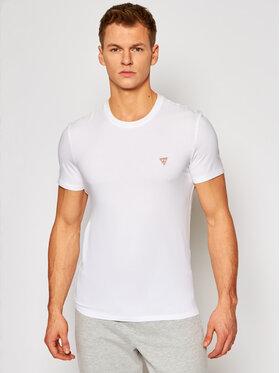 Guess Guess T-Shirt M1RI24 J1311 Weiß Super Slim Fit