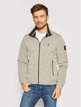 Calvin Klein Jeans Calvin Klein Jeans Demisezoninė striukė Harrington J30J317139 Pilka Regular Fit