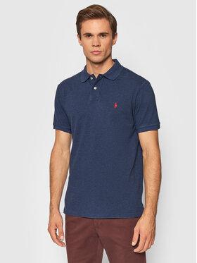 Polo Ralph Lauren Polo Ralph Lauren Тениска с яка и копчета 710536856293 Тъмносин Slim Fit