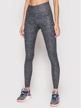 Nike Nike Leginsai One Luxe Tight CD5915 Pilka Slim Fit