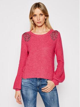 Liu Jo Liu Jo Sweater CA1191 MAOOF Rózsaszín Regular Fit