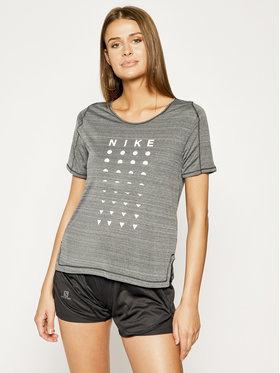 Nike Nike Koszulka techniczna Icon Clash CJ2441 Szary Standard Fit