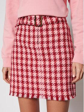 Pinko Pinko Mini sukně PE 21 BLK01 1G15QT 8420 Růžová Slim Fit