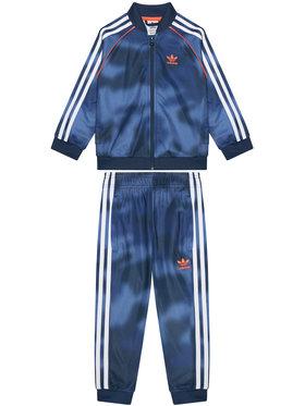 adidas adidas Φόρμα Allover Print Camo Sst GN4120 Σκούρο μπλε Regular Fit