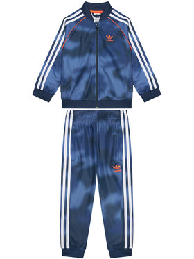 adidas adidas Survêtement Allover Print Camo Sst GN4120 Bleu marine Regular Fit