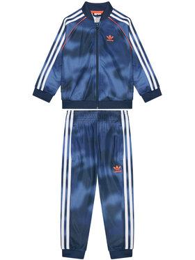 adidas adidas Tuta Allover Print Camo Sst GN4120 Blu scuro Regular Fit