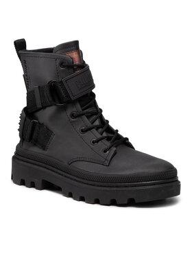 Palladium Palladium Ορειβατικά παπούτσια Pallatrooper Rock Tx W -97212-010-M Μαύρο