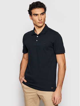 Roy Robson Roy Robson Polo marškinėliai 4800-90 Tamsiai mėlyna Regular Fit