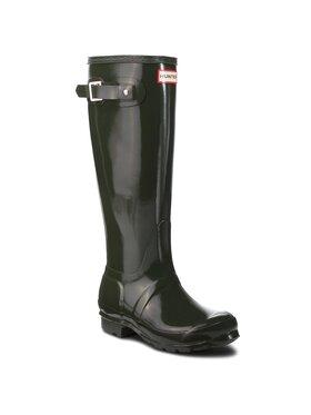 Hunter Hunter Bottes de pluie Org Tall Gloss WFT1000RGL Vert