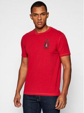Aeronautica Militare Aeronautica Militare T-shirt 211TS1837J507 Crvena Regular Fit
