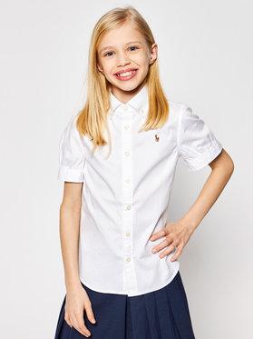 Polo Ralph Lauren Polo Ralph Lauren Πουκάμισο Solid Oxford 313680346001 Λευκό Regular Fit
