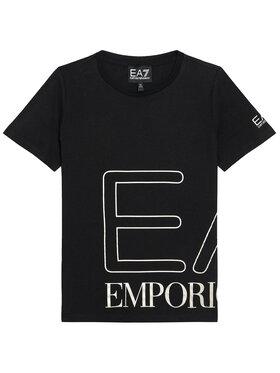 EA7 Emporio Armani EA7 Emporio Armani T-Shirt 3KFT54 FJ7CZ 1200 Schwarz Regular Fit